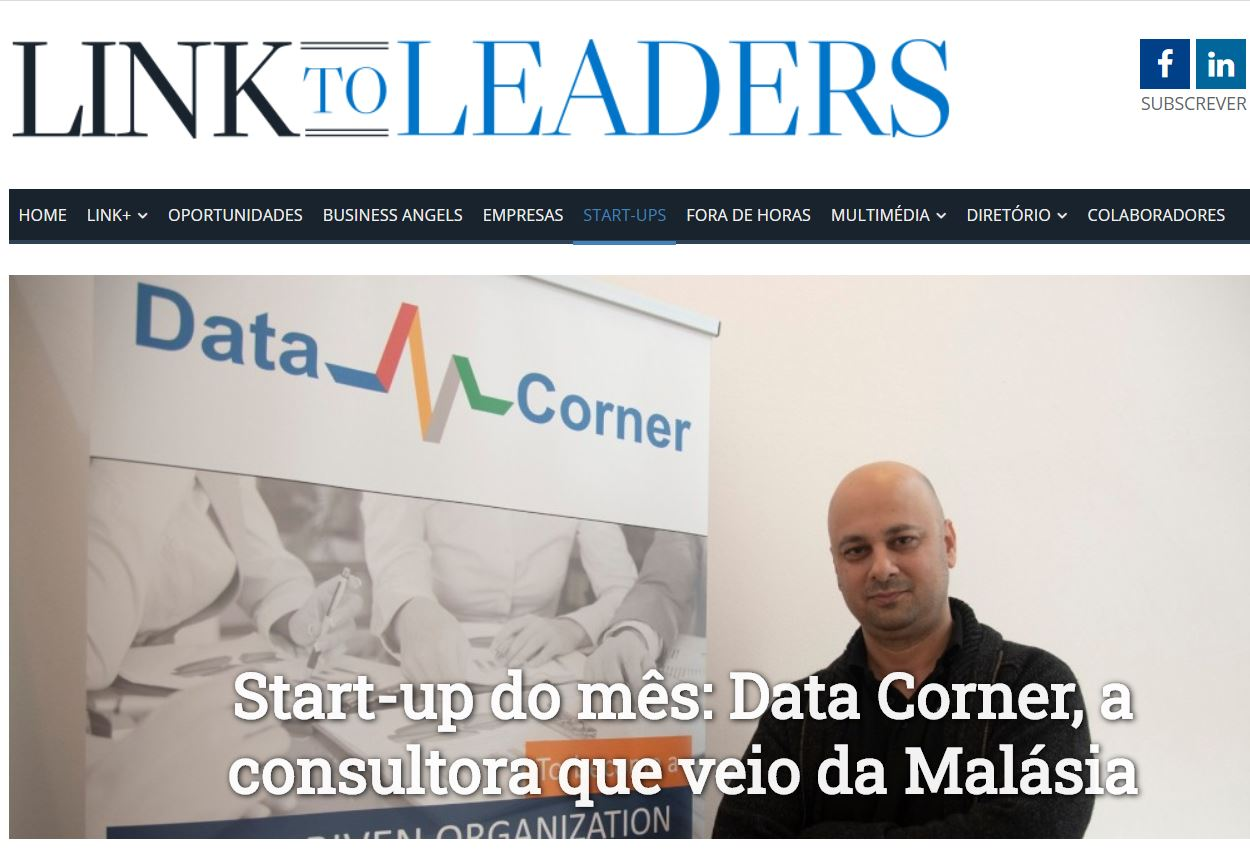 Data Corner: StartUp of the Month