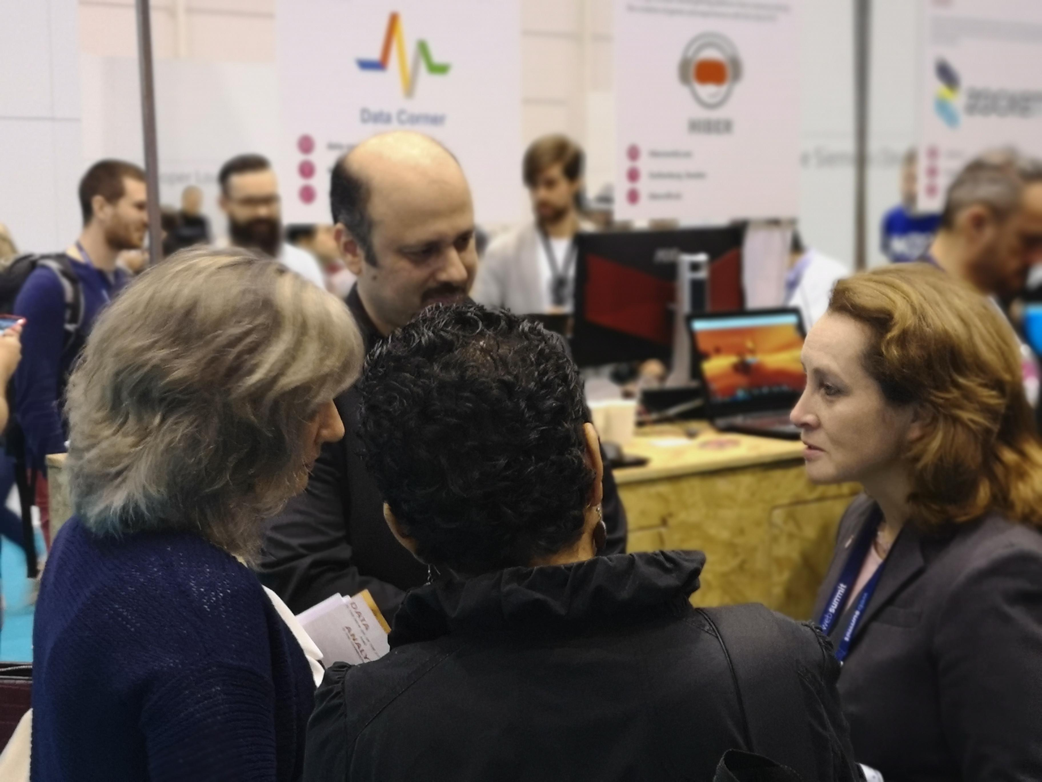 Data Corner in WebSummit 2018